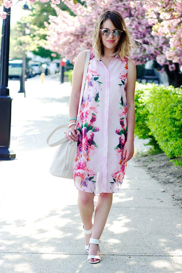 Boston fashion blogger