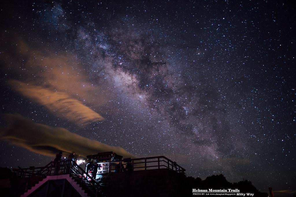 合歡山 - 銀河 24mm