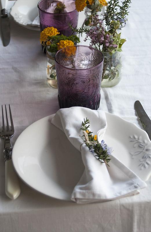 Ensalada de mozarella y tomate seco