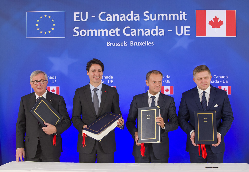 Canada and the EU: the dawn of a new Western Order