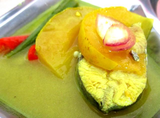 Anak Borneo terung Dayak fish