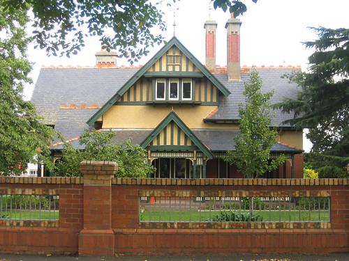 A Swiss Chalet Style Queen Anne Villa - Ballarat