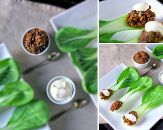 Hoisin Beef on Pak Choi Spoons | by tandteacake