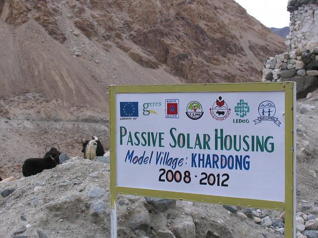 Ladakh, passive solar buildings