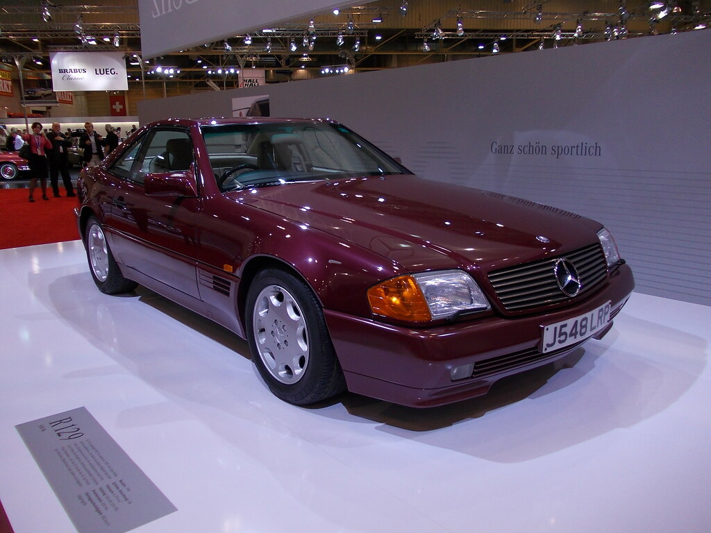 mercedes benz r129 500 sl 1991 techno classica essen. Black Bedroom Furniture Sets. Home Design Ideas