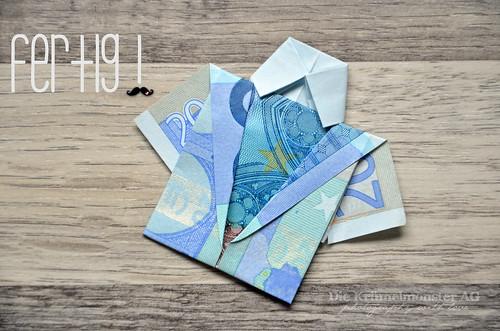 DIY Geld falten - Mein letztes Hemd (14) | Flickr - Photo Sharing!