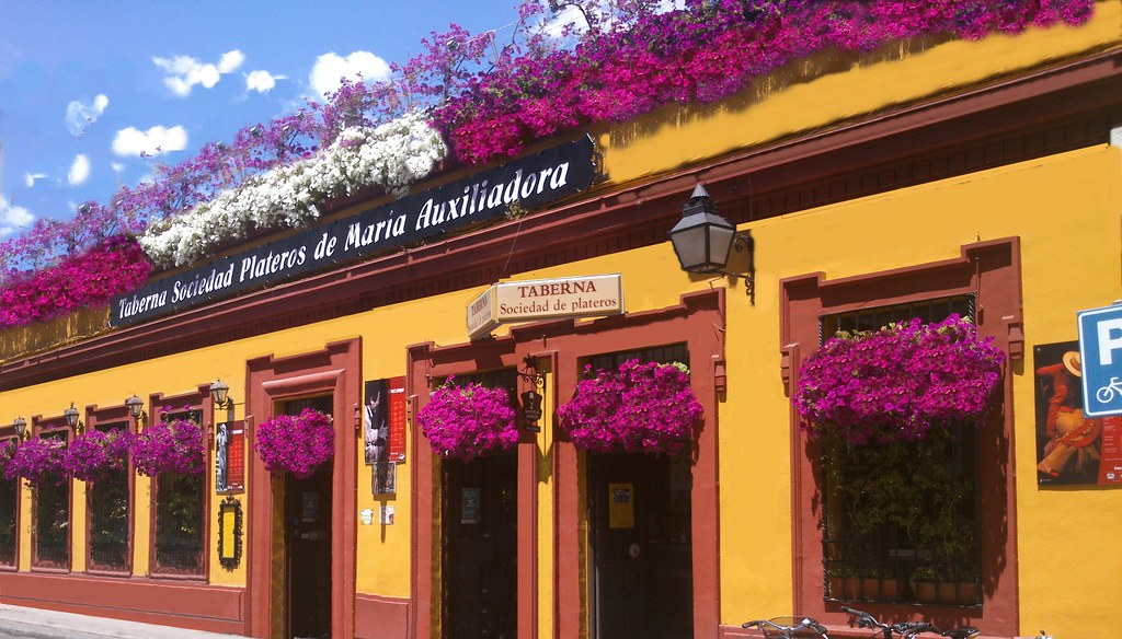 Fachada restaurantes en c rdoba sociedad plateros m auxil for Decoracion cordoba