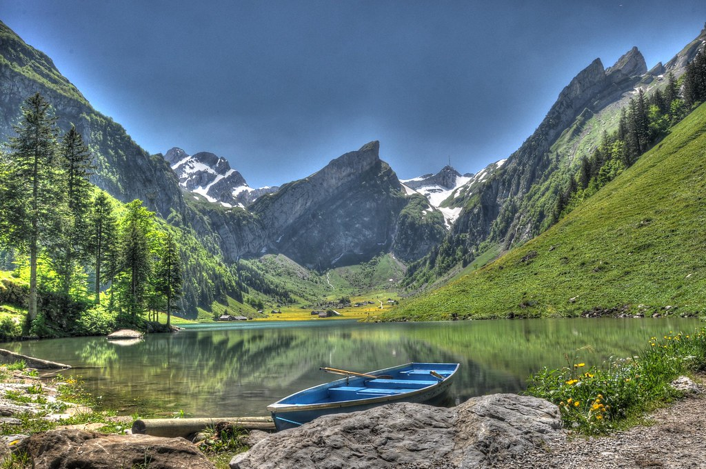 Seealpsee Switzerland One Of The Most Beautiful Places I Flickr