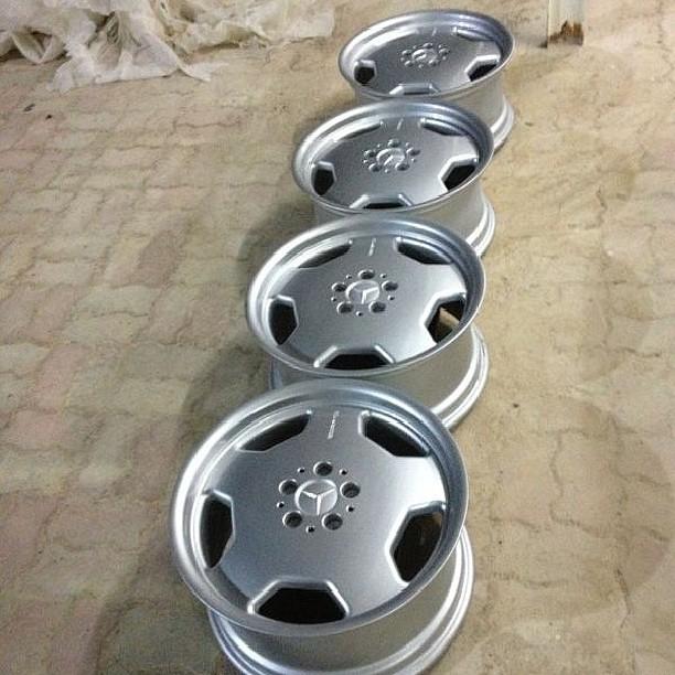Mercedes benz oem genuine amg monoblock wheel rim 18 inch for Mercedes benz oem wheels