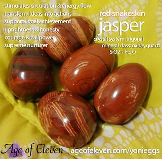 Red Snakeskin Jasper