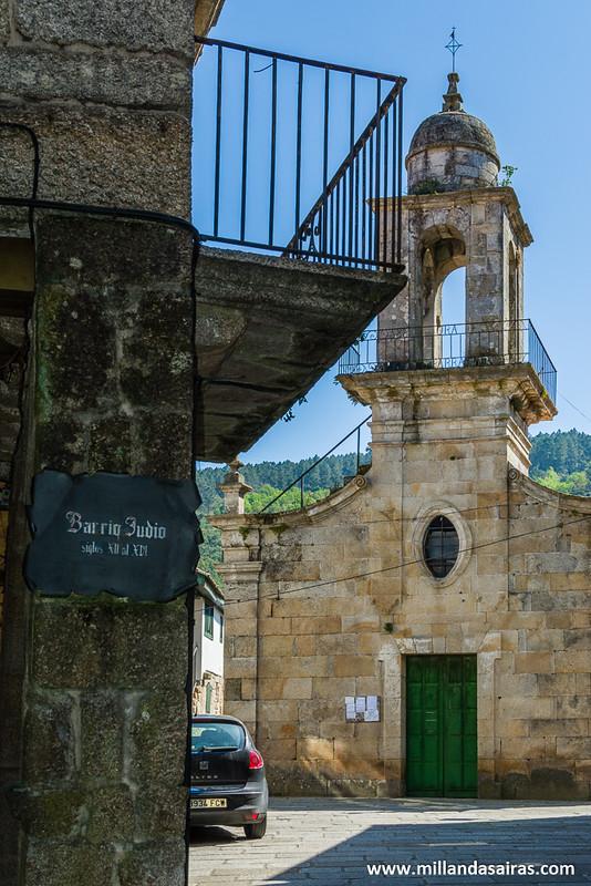 Iglesia de A Madalena en el barrio judío