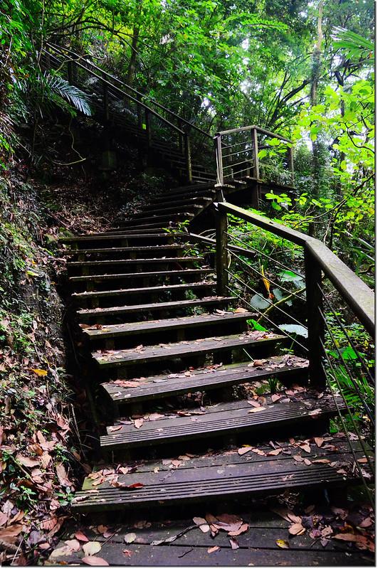 獨立山步道木棧道
