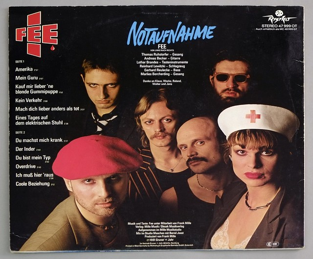 "FEE NOTAUFNAHME LYRICS SLEEVE HALF-SPEED MASTER 12"" LP VINYL"