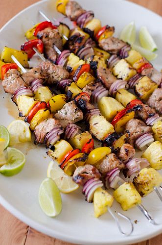 Grilled Pork Kabobs | by Seeded at the Table