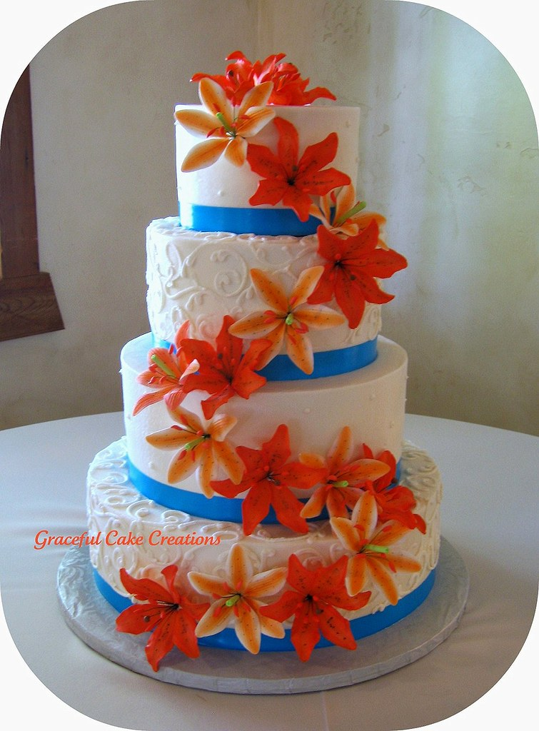 Wedding Cakes And Buttercream Icing