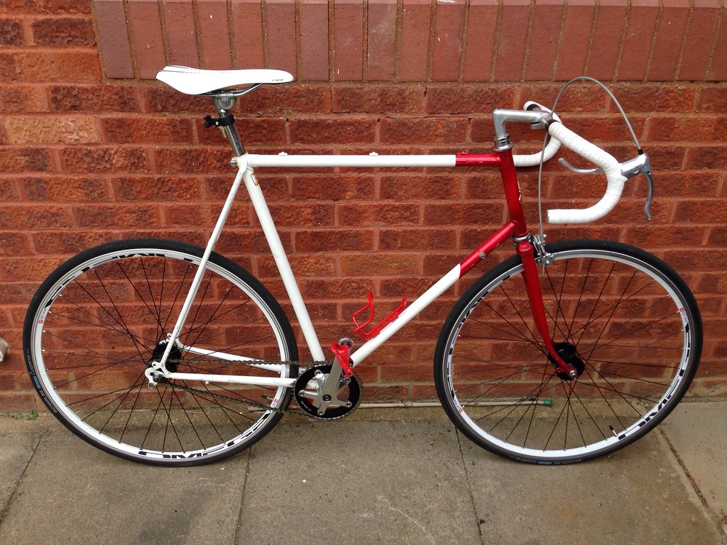 For Sale Sign >> RALEIGH EQUIPE FIXIE CONVERSION FOR SALE   Seb Ward   Flickr