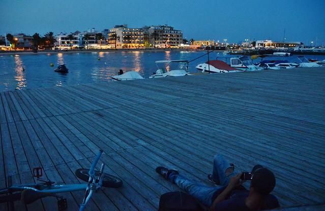 Capvespre a Cala Estància a Can Pastilla, Mallorca  Flickr - Photo Sharing!