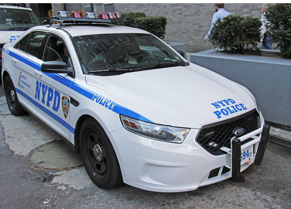 picture of new nypd 2013 ford taurus police interceptor ca flickr. Black Bedroom Furniture Sets. Home Design Ideas