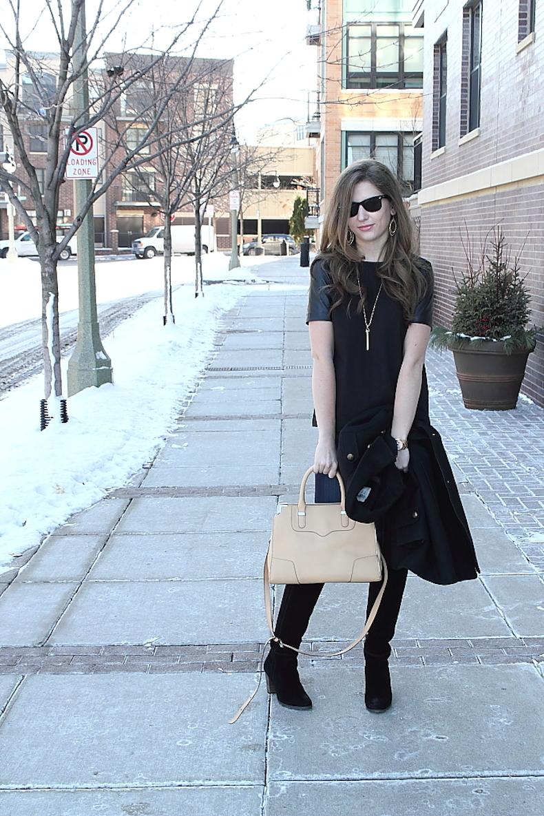 black-leather-sleeve-shirt