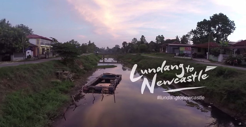lundang to newcastle