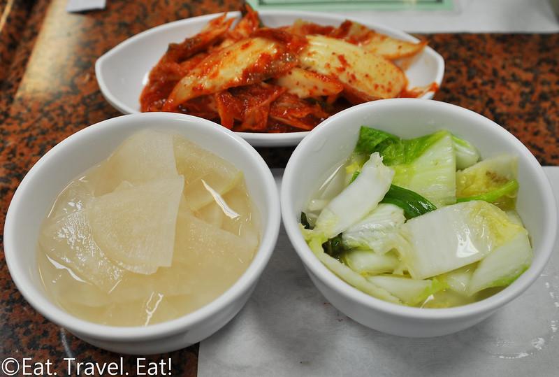 Ma Dang Gook Soo- Los Angeles (Koreatown), CA: Banchan
