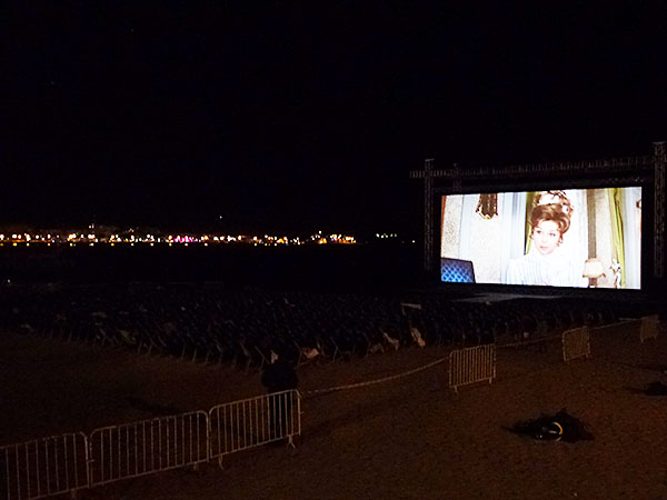 cinéma de la plage hibernatus