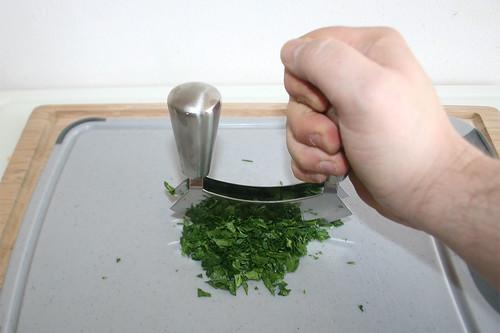 47 - Petersilie zerkleinern / Hackle parsley