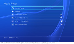 Media Player Coming to PS4