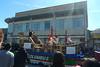 Fleet Week -Columbus Day parade float