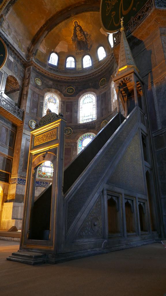Erasing Lines at The Hagia Sophia, Turkey – The Everywhereist