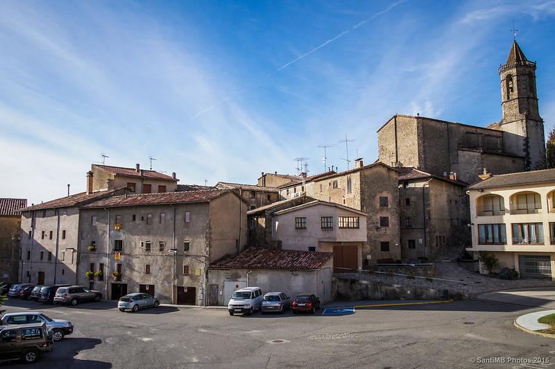 Plaça de Maria Vila d'Abadal en Vidrà