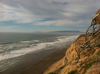 Fort Funston Beach Looking North | by markjelinsky