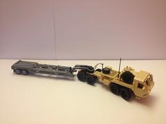 LEGO HEMTT M983 with M870 Trailer (01) by SirHandyMan