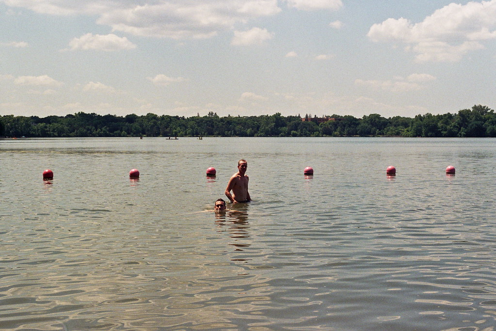 Hidden Beach on Cedar Lake, Minneapolis   Flickr - Photo Sharing!