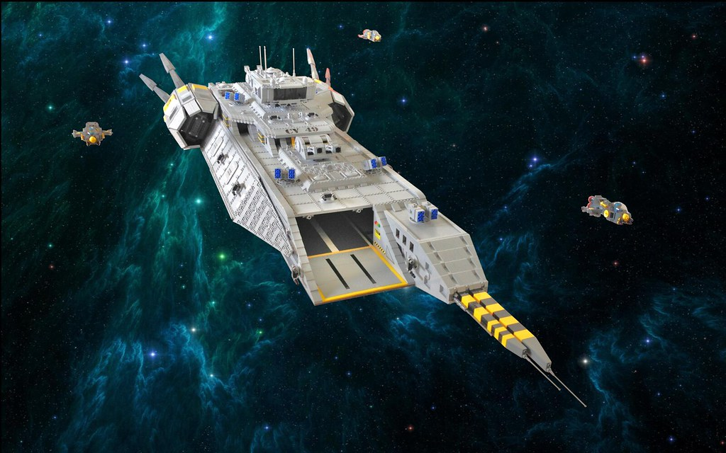 "Fire Drake Class Carrier CV-49 ""Admiral's Wrath"" 