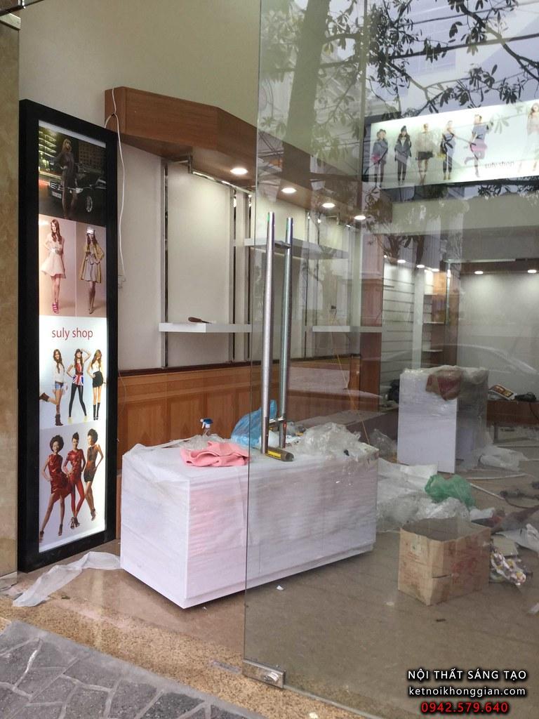 thiết kế shop thời trang chuyên nghiệp