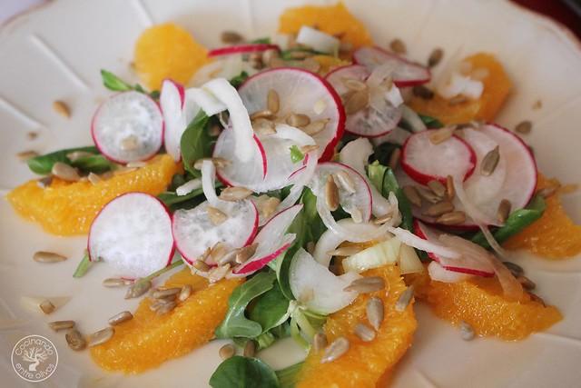 Ensalada de rabanos y naranja www.cocinandoentreolivos.com (3)