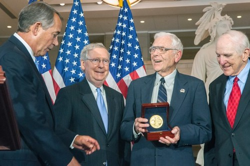 fighter-aces congressional gold medal