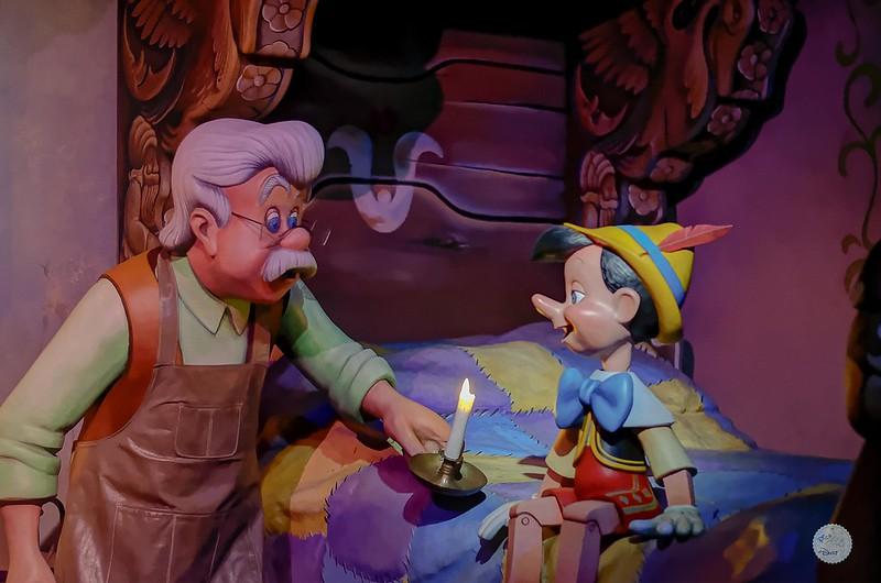 Geppetto & Pinocchio