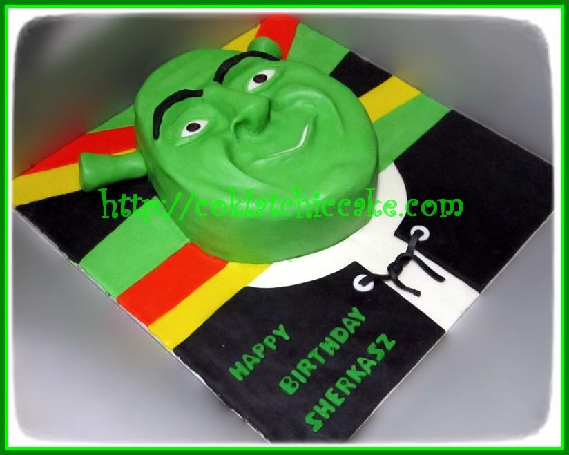 Cake Shrek