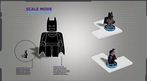 LEGO Dimensions Scale Mode