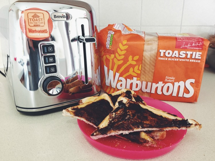 warburtons toaster toasted to the top