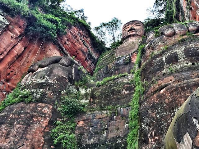Gran Buda de Leshan (Sichuan, China)