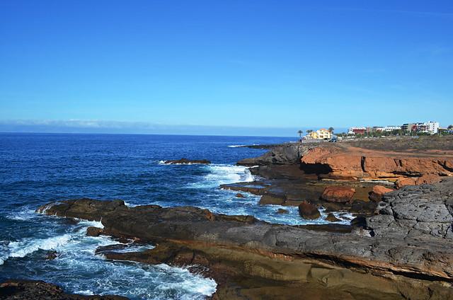 Coastline, Playa Paraiso, Tenerife