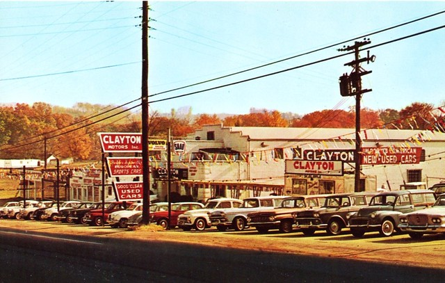 Used Car Dealerships Knoxville Tn >> Clayton Motors Inc., Knoxville, TN, 1960s | Flickr - Photo Sharing!