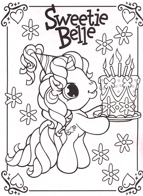 My Little Pony Coloring Pages 29