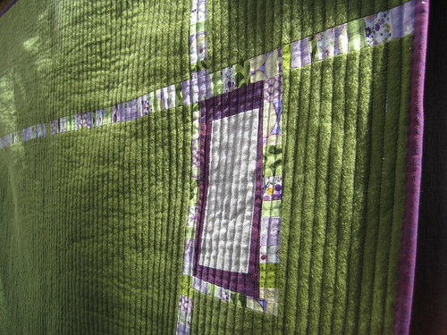 Anything Goes Quilt Back Detail | by Sew Katie Did