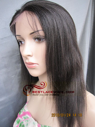 sw046 chinese virgin remy full lace wigs yaki | stock wig ...
