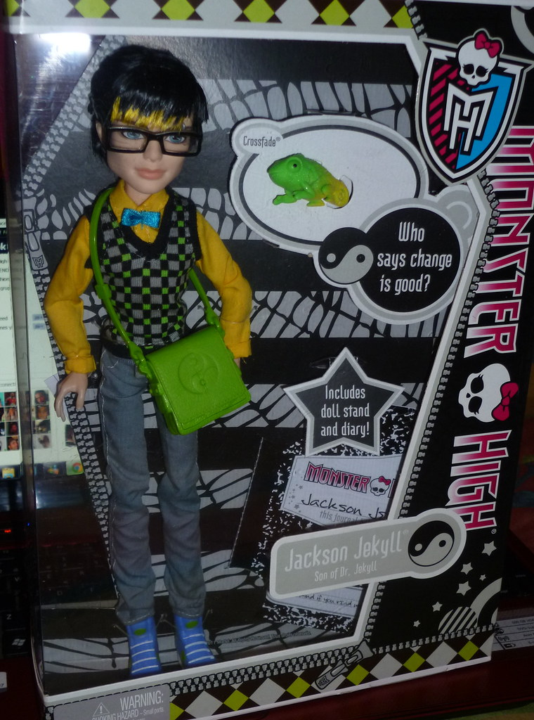 Jackson jekyll monster high doll by mattel new 2012 flickr - Monster high jackson ...