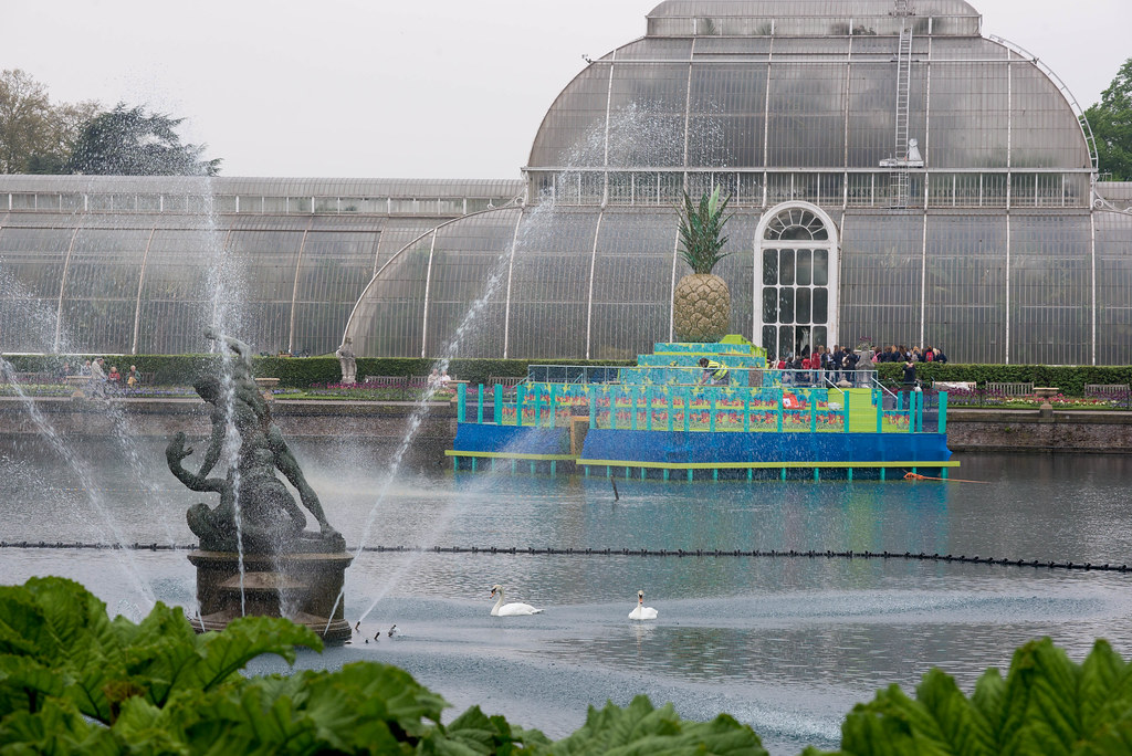 Tutti Frutti Boating Experience On The Palm House Pond